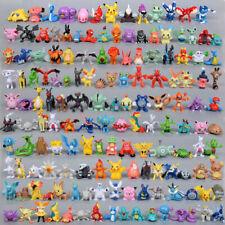 144pcs Pokemon Pocket Monster Action Figures Random Character Toys No Repeat
