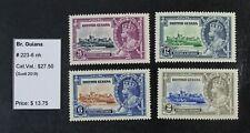 Ckstamps: Gb Stamps Collection British Guiana Scott#223-226 Mint Nh Og