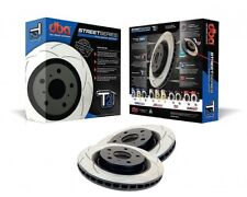 DBA T2 front slotted brake disc pair for Nissan 350Z