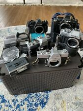 35mm Camera Lot - Minolta (4) Yashica (1) Cokin