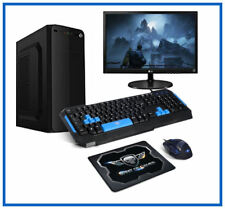 "PC Dual Cores -  Ecran 22""- 1000Go - Ram 8 Go - Windows 10 - Pack gamer"