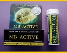 2 x 20 Learning Study Memory Concentration Mind tablets  Natural Energy Pills