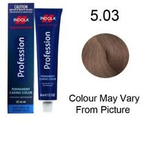 Indola Profession Permanent Colour 60ml 5.03 - Light Brown Natural Gold