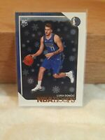 2018-19 PANINI NBA HOOPS LUKA DONCIC ROOKIE RC #268 Winter SP Snowflake PSA 10?