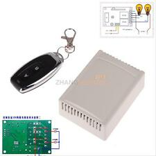 DC 12v 10A Relay 2CH wireless RF Remote Control Switch Transmitter+ Receiver #ZH