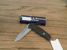 "Smith & Wesson Large S.W.A.T 2000G10 3/4"" First Production Run Knife NIB"