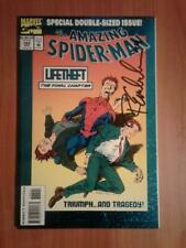 Amazing Spider-Man #388 1994 Signed by  Randy Emberlin  NM  (Lar*)
