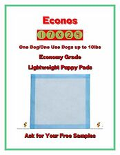 """900-17x24"""" Economy Lightweight One Dog One Use Puppy Training Pads FREE SAMPLES"""