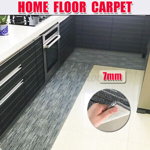 ❤️7mm Thickness Non-Slip Home Kitchen Door Mat Machine Washable Floor Rug