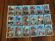 1972 Kellogg's Baseball 18 Card Lot