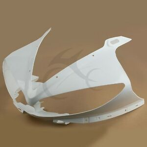 Upper Front Fairing Cowl Nose Fit For Yamaha YZF R6 2003-2005 YZF R6S 2006-2009