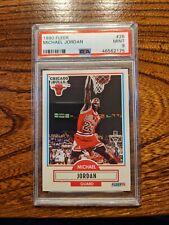 MICHAEL JORDAN 1990-91 Fleer #26 Chicago Bulls HOF PSA 9 MINT