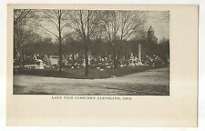Lake View Cemetery, CLEVELAND OH, Vintage Ohio Early UDB Postcard
