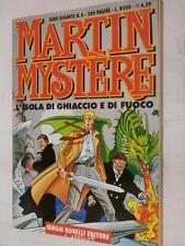 MARTIN MYSTERE L isola di ghiaccio e di fuoco Carlo Recagno e Esposito Bros 2000