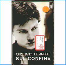 """CRISTIANO DE ANDRE' """" SUL CONFINE """" MC MUSICASSETTA SIGILLATA K7  RARO"""