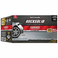 Rust-Oleum 293513 RockSolid  Garage Floor Coating Gray Kit 2.5 Car Garage Kit