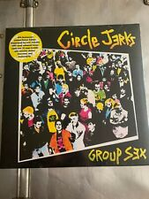 CIRCLE JERKS - Group Sex LP Vinyl 40th Anniversary w/ Bonus Tracks