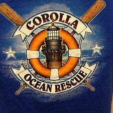 VINTAGE COROLLA OCEAN RESCUE T SHIRT SMALL