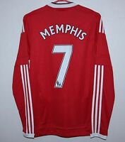 Manchester United England home shirt 15/16 #7 Memphis Adidas BNWT Size XS