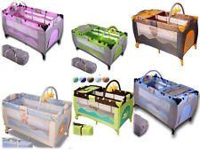 Culla box campeggio lettino da viaggio materassino bambino lettino da campeggio