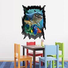 Finding Nemo 3D Kids Wall Art Sticker Vinyl Decal Decor Removable Mural Gift DIY