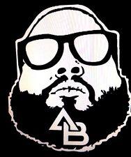 "Action Bronson Vinyl Decal Sticker 5.5"" X 6.3"" (Bronsolino, Real Hip Hop, Urban)"