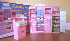 NEW FANCY LIFE DOLL HOUSE FURNITURE Kitchen+Refrigerator PLAYSET (24016)