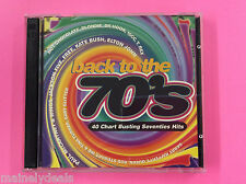 Back To The 70'S 40 Chart Busting Seventies Hits Music CD