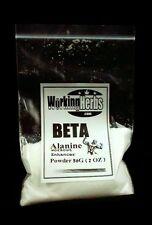 Beta Alanine pure powder pre workout 2oz bag