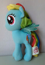 My Little Pony Rainbow Dash Hasbro Blue Plush Stuffed Animal Soft Toy