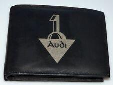 Audi Logo Alt Leder Geld Tasche Börse Geldbeutel Geldbörse Oldtimer Youngtimer