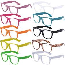 Brille NERD Fashion Glasses modische Brille ohne Sehstärke