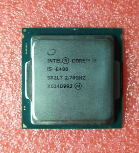 Intel Core i5 6400 SR2L7 Skylake 4 Core LGA1151 3.3 GHz CPU Processor Desktop Pc