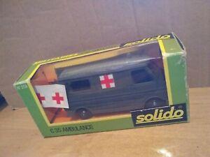 health Solido citroen mehari of military doctor