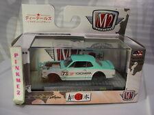 M2 Machines 1971 NISSAN SKYLINE GT-R∞turquoise;73 YOKOHAMA∞Japan∞JPN02∞17-97