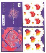 CARNET BC3221A 1999 NEUF ** NON PLIE - COEURS DE SAINT VALENTIN