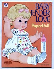 Vintage Mattel/Whitman #1960 BABY TENDER LOVE paper dolls 1971 uncut/unused