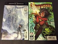 SPIDER-WOMAN #4,5,6  FIRST PRINT MARVEL COMICS (2020) SPIDER-MAN lot