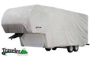 Traveler Fifth Wheel Trailer Covers by Eevelle - Water & UV Resistant Fabric