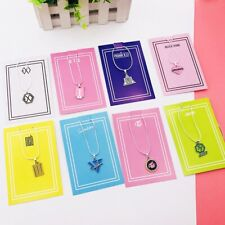 EXO NCT Pendant Necklace Seventeen Chain Choker Twice Blackpink Clavicular Chain