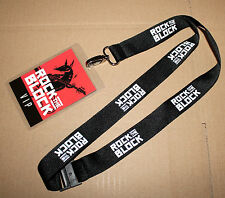 Guitar Hero Live Rock The Block VIP Lanyard with Card from Gamescom 2015