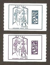 2016 Autoadhésifs n° 1216 et 1217 Marianne de CIAPPA Neufs** LUXE