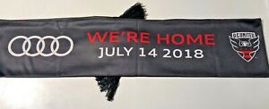 DC UNITED | AUDI FIELD INAUGURAL MATCH STADIUM GIVEAWAY SCARF WAYNE ROONEY DEBUT