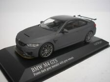 BMW M4 GTS 2016 Dark Grey Metalic/gray Rims 1/43 Minichamps 410025225