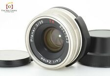 Excellent-!! CONTAX Carl Zeiss Planar 35mm f/2 T* for CONTAX G1 / G2 from Japan