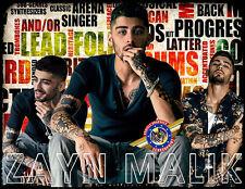 """Zayn Malik """"Rock, Pop Music"""" Personalized T-shirts"""