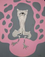 Le cyclope du marais : Lithographie signée Félix LABISSE