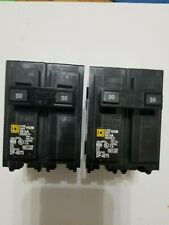 Square D Hom230 30 Amp 2 Pole Circuit Breaker This auction is for (2) breakers.