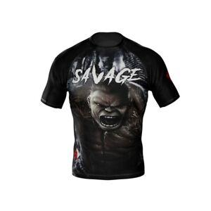 HighType Savage Rash Guard, Cross Shorts, Hoodie, Beanie BJJ MMA Fightwear