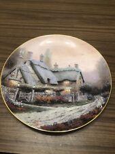"Thomas Kinkade ""Mc Kenna's Cottage"" 1992 Plate#5270A"